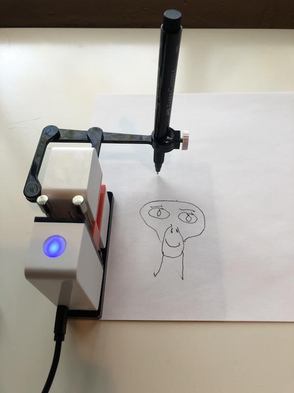 Robot drawing ET
